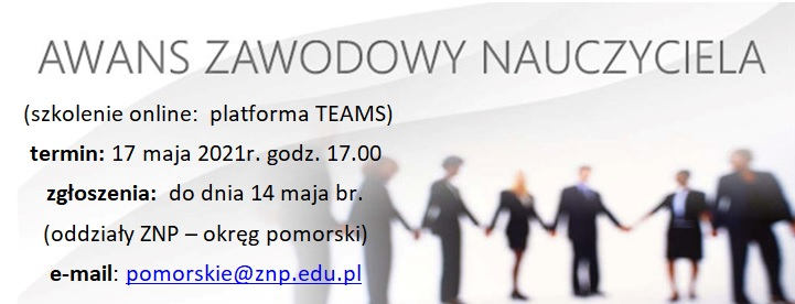 grafika - awans zawodowy nauczyciela - 17.05.2021