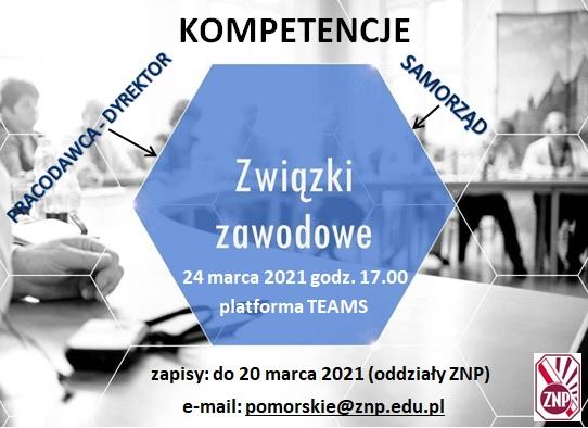grafika - zwiazki zawodowe - szkolenie - 24.03.2021